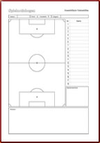 photo about Printable Soccer Field Diagram titled No cost downloads and templates for football coaches