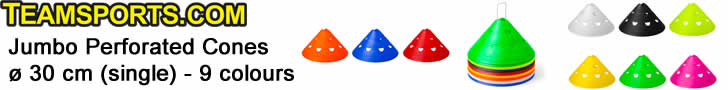 Jumbo Perforated Cones ø 30 cm - 9 colours